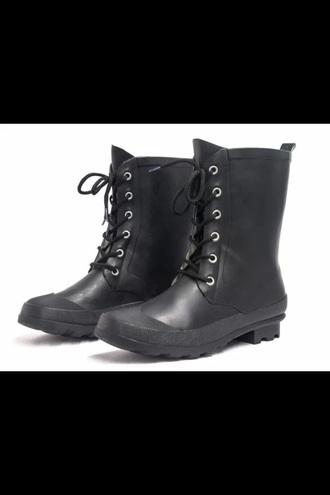 shoes henreyferrera boots wellies winter fashion swag