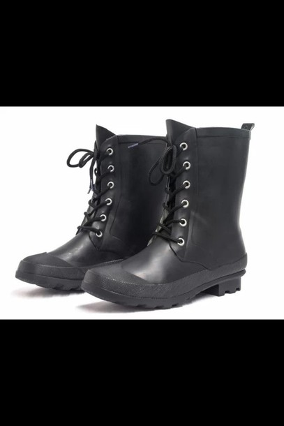 shoes henreyferrera boots wellies winter outfits fashion swag