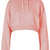 Crop Pull On Hoody - Topshop