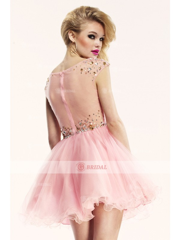 Baby Doll V-Neck Zipper Natural Taffeta Sleeveless Quinceanera Dresses