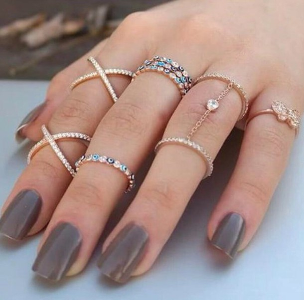 jewels knuckle ring ring rose gold gold gold ring jewelry x ring bling crystal ring silver evil eye diamonds