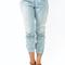Gj   distressed denim sweatpants $52.70 in ltblue - long pants   gojane.com