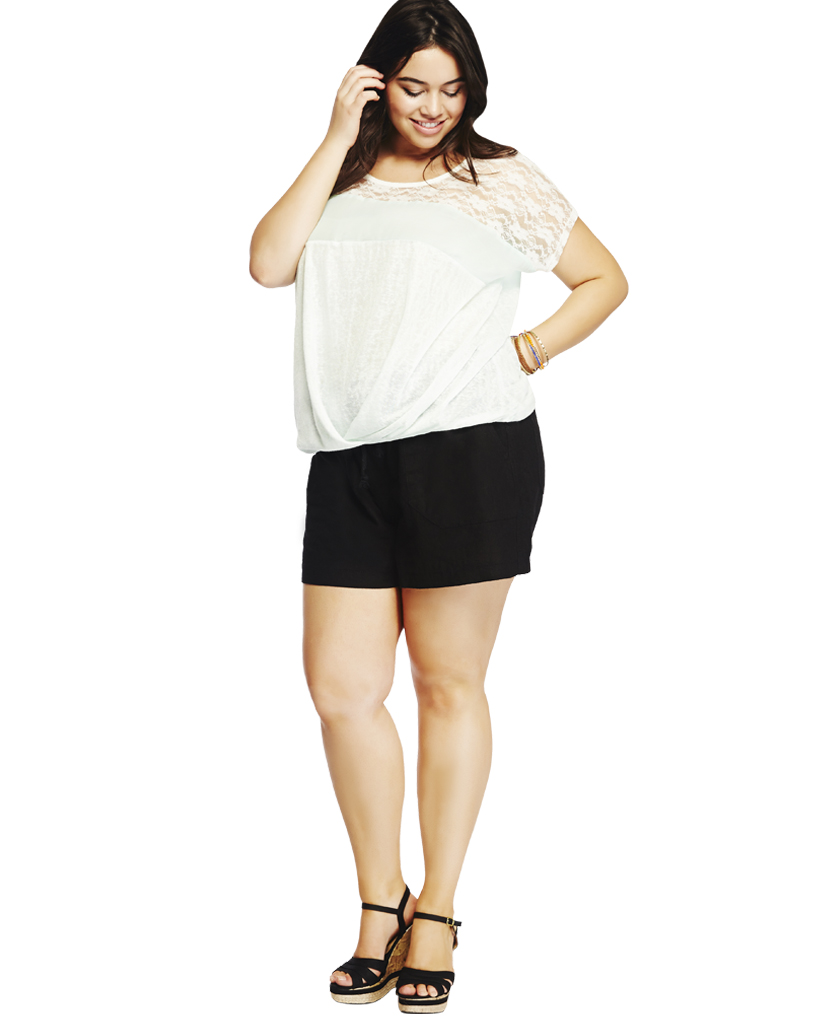 Linen Drawstring Shorts | Wet Seal