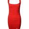Red bandage dress sexy luxury elegant sale | wow awesome world