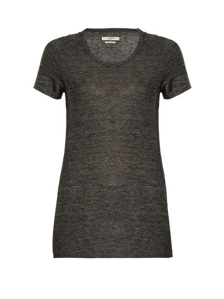 Isabel Marant etoile t-shirt shirt t-shirt grey top