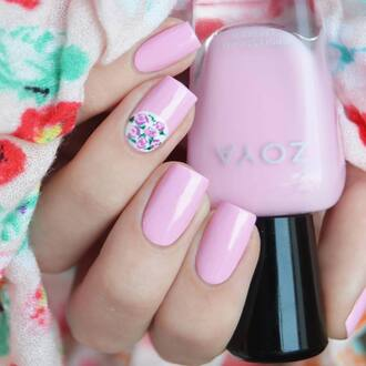 nail accessories tumblr nail polish nails nail art nail stickers zoya pink nails pastel pink light pink soft pink baby pink