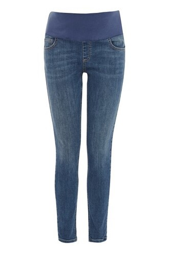 jeans blue green