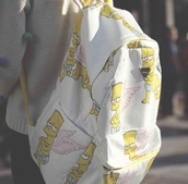 bag,backpack,bart simpson
