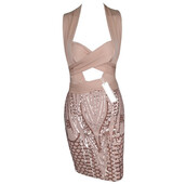 dress,glitter,sparkle,sequins,dazzle,wrap around,party,occasion,date outfit,homecoming,prom