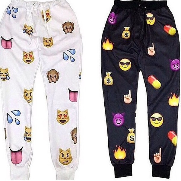 emoji pants emoji sweats emoji pants tilles pants jeans
