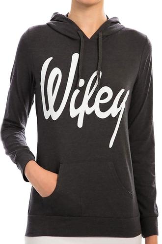 sweater wifey hoodie jumper sweatshirt cool trendy style fashion black long sleeves black and white sporty