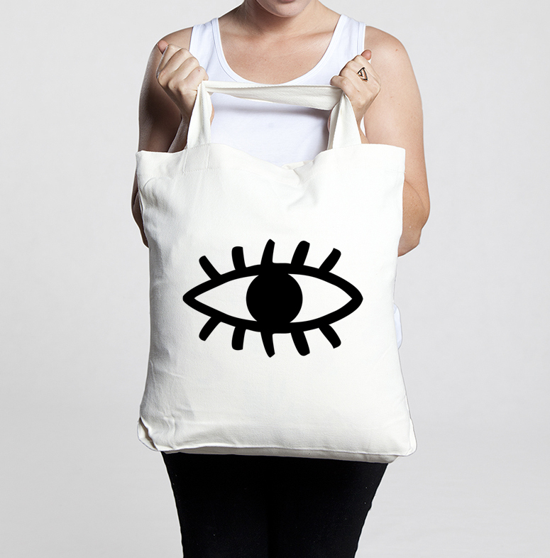 Jasminedowling ? eye of the dreamer tote bag