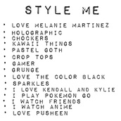 home accessory,melanie martinez,black,grunge,pastel,anime,kawaii,choker necklace,crop tops,holographic,pastel goth,mesh,style me