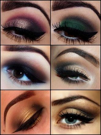 make-up eye makeup smokey eyes