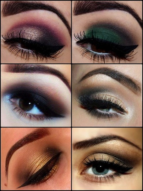 make-up eye makeup smokey eyes