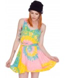 UNIF Deadstock Tie Dye Dress | Dolls Kill