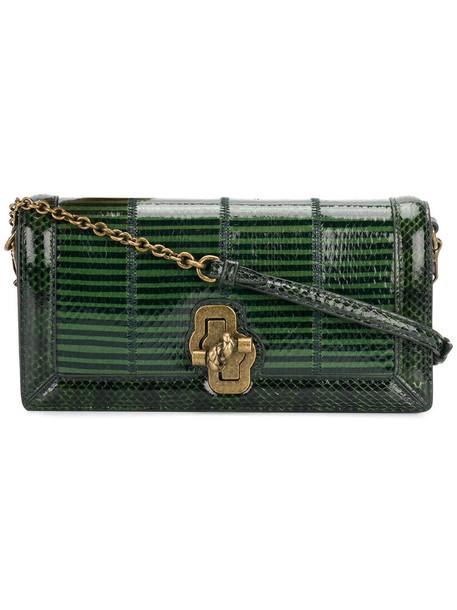 Bottega Veneta women bag leather green