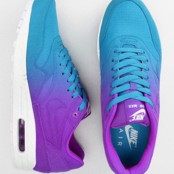 shoes nike air max 1 air max purple shoes