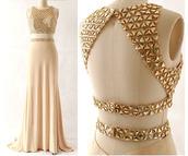 dress,long prom dress,sleeveless prom dress,backless prom dress,two pieces prom dress