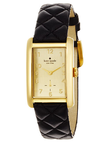 Ladies' Cooper Grand Watch with Quilted Strap | Lord and Taylor