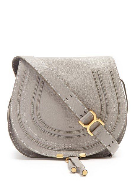 Chloe cross bag leather grey