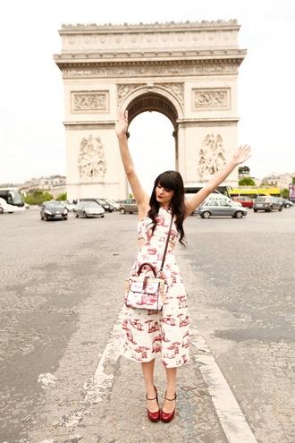 dress shoes bag the cherry blossom girl