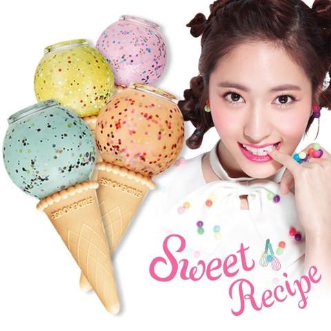 Etude sweet recipe ice cream nails nail polish limited edt