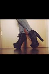 shoes,heels,boots,black pumps,high heel ankle boot,platform lace up boots,jeffrey campbell,lita,jeffrey campbell lita,platform shoes,party dress,black dress