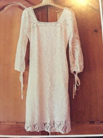 dress white lace dress white forever 21 mini dress