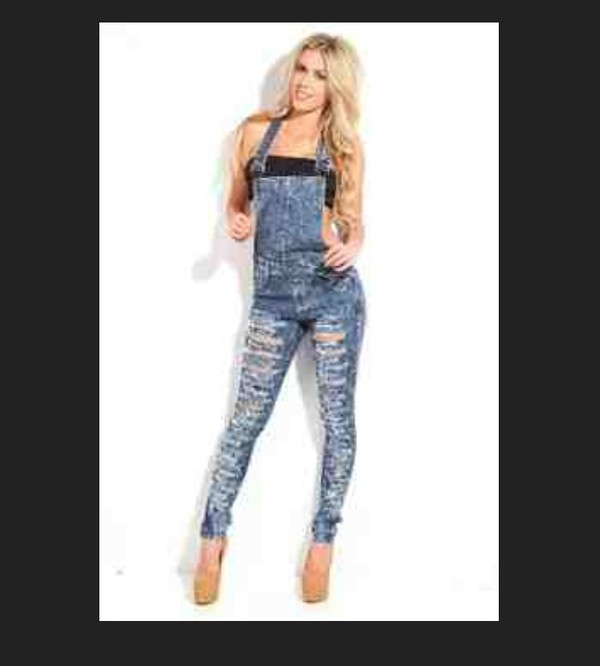 overalls skinny jeans jumpsuit denim jeans