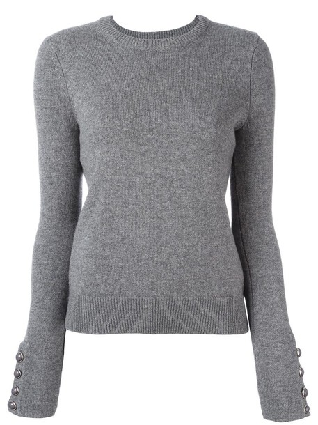Michael Kors jumper women classic grey sweater