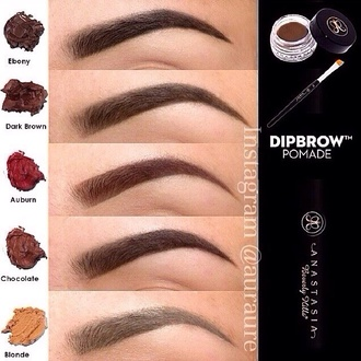 cosmetics brow polish eyebrows make-up nail polish