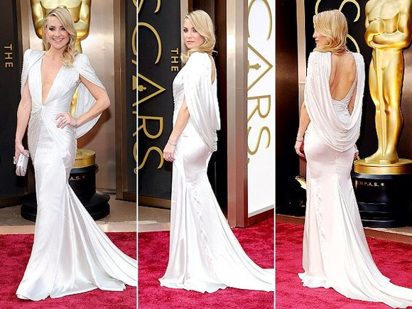 dress kate hudson oskar 2014