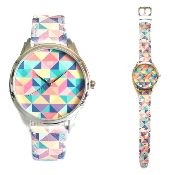 jewels watch watch colorful cool bright ziz watch ziziztime
