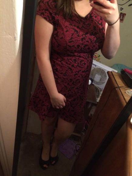 red dress black dress lace dress kohls