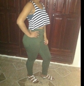 pants,green,camouflage,high waisted jeans,shirt