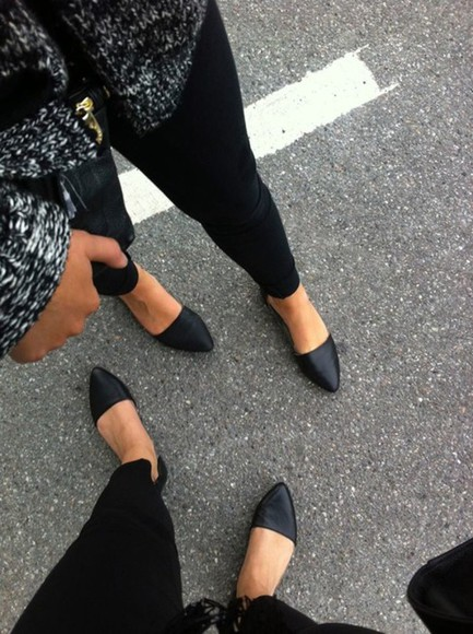 marc jacobs shoes flats black leather cut outs