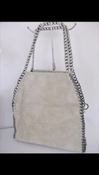 bag style fashion chain leather bag summer pastel