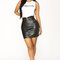 Infatuation mini skirt - black