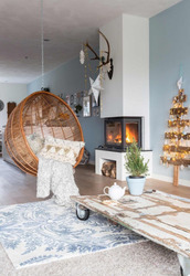 home accessory,tumblr,home decor,hanging chair,chair,table,rug,living room,holiday home decor,holiday season,plants,pillow,home furniture