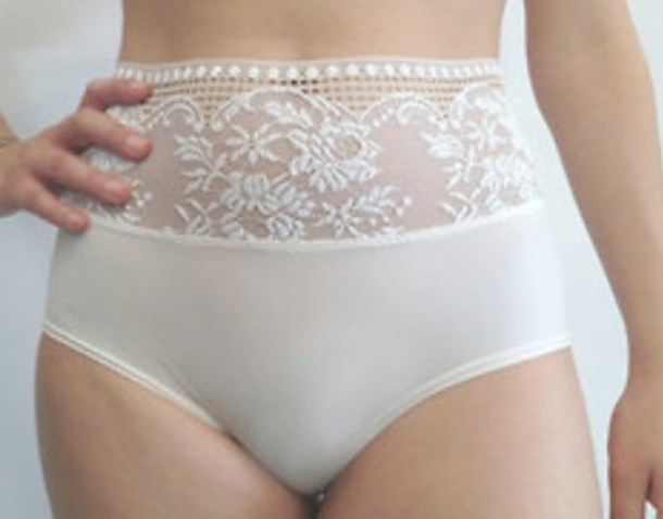 7e0423ea4 underwear white sexy lingerie lace ivory high waisted
