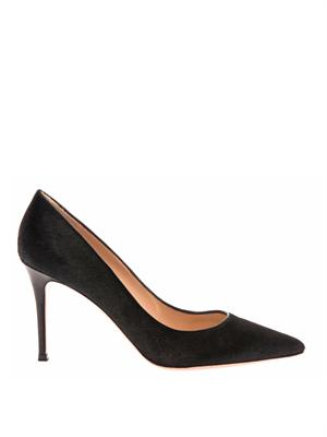 Business calf-hair and leather pumps | Gianvito Rossi | MATCHE...