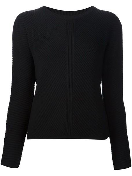 Joseph jumper women classic black sweater
