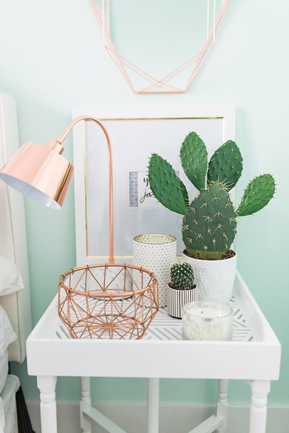 home accessory rose rose gold bedroom