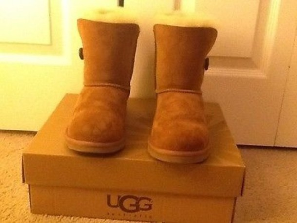 shoes, chestnut, boots, bailey button, ugg boots, ugg boots, ugg boots, ugg boots, ugg boots, ugg bailey button - Wheretoget