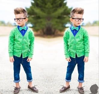 sunglasses guys toddler kids fashion cardigan geek glasses bowtie hipster