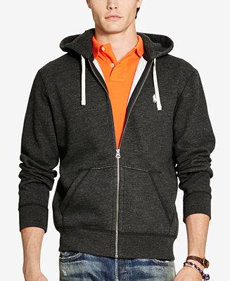 Polo Ralph Lauren Mens Zip Up Hoodie Sweaters Men Macys