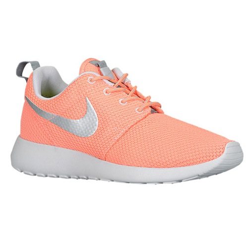 Nike Roshe Run - Women's - Running - Shoes - Atomic Pink/Cool Grey/Neutral Grey/Metallic Silver