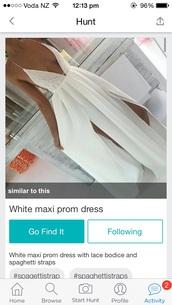 dress,white lace maxi dress