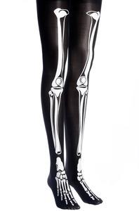 Posh'd official online boutique — skeleton bone style tights